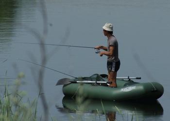 Ловля на ультралайт спиннинг с лодки