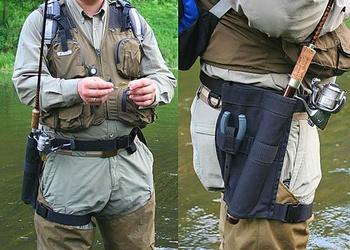 Экипировка и снаряжение для рыбалки со спиннингом