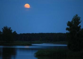 Луна и... щука